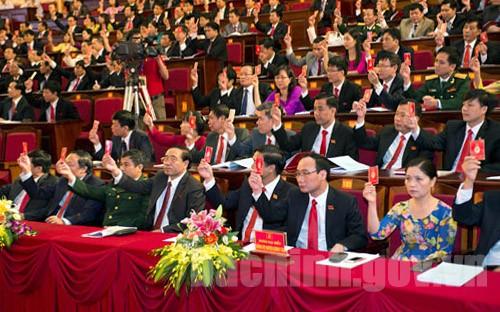 Đại hội đại biểu Đảng bộ tỉnh lần thứ XIX, nhiệm kỳ 2015 – 2020