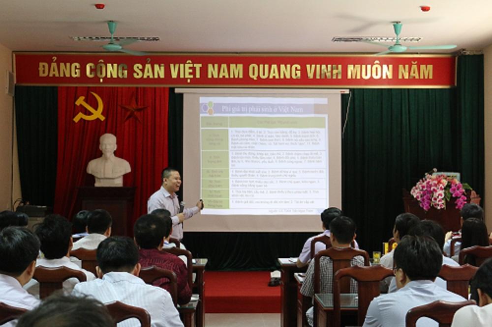 Hội nghị đánh giá, phân tích chỉ số DCI của Sở Tài nguyên và Môi trường